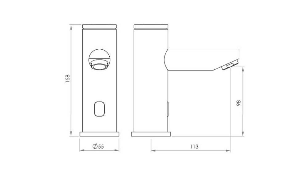 autoflo_basin_pillar_standard_sensor_tap_dimensions.jpeg